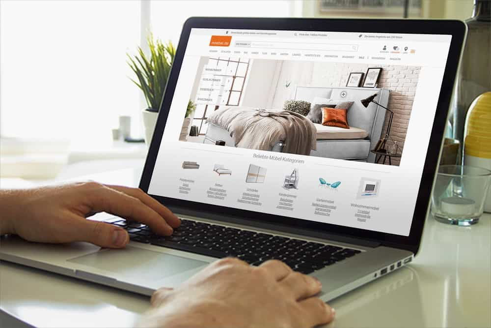 Möbel Online-Shop 01