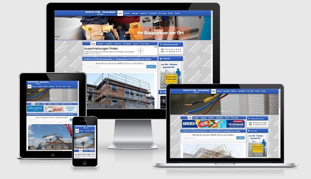 BAUFUX Netzwerk regionaler Baufirmen und Bauunternehmen