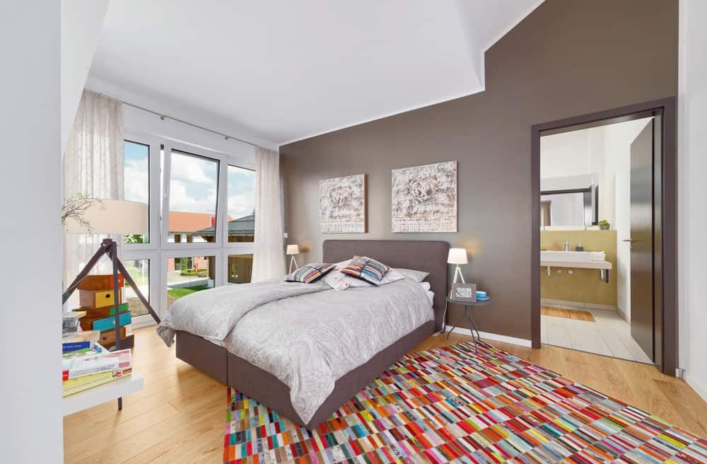Ein gutes Raumklima ist auch im Schlafzimmer von Bedeutung. (Foto: HLC/allkauf haus)
