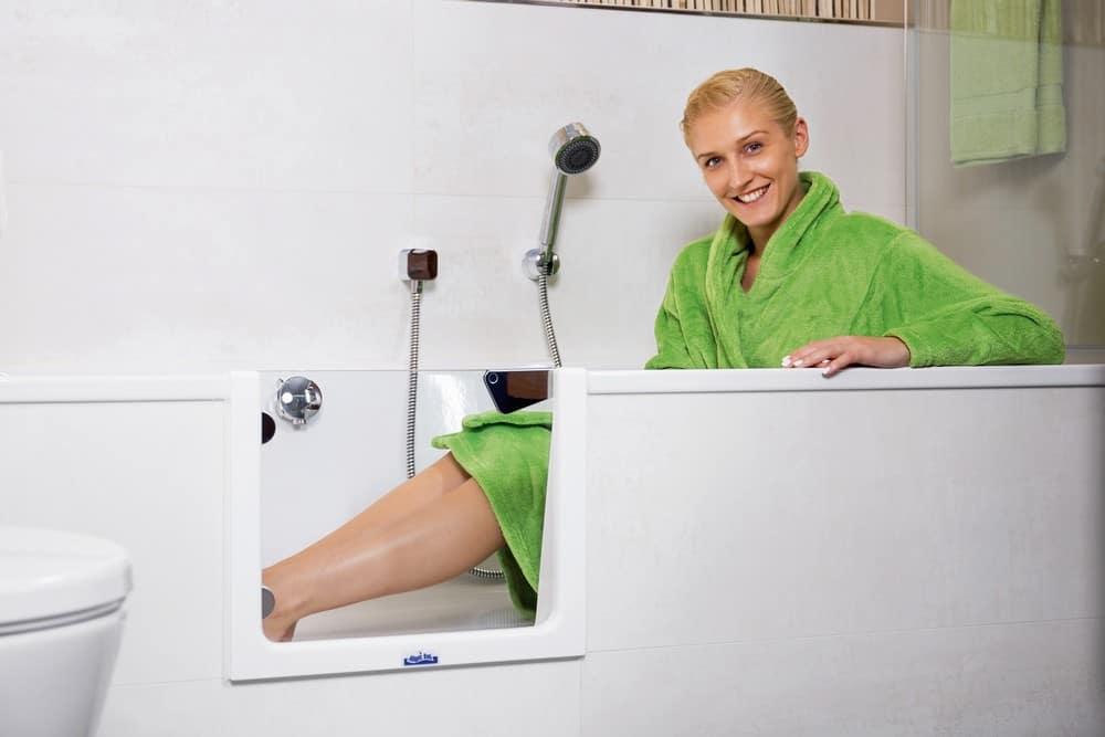 Umbau der Badewanne zur Dusche