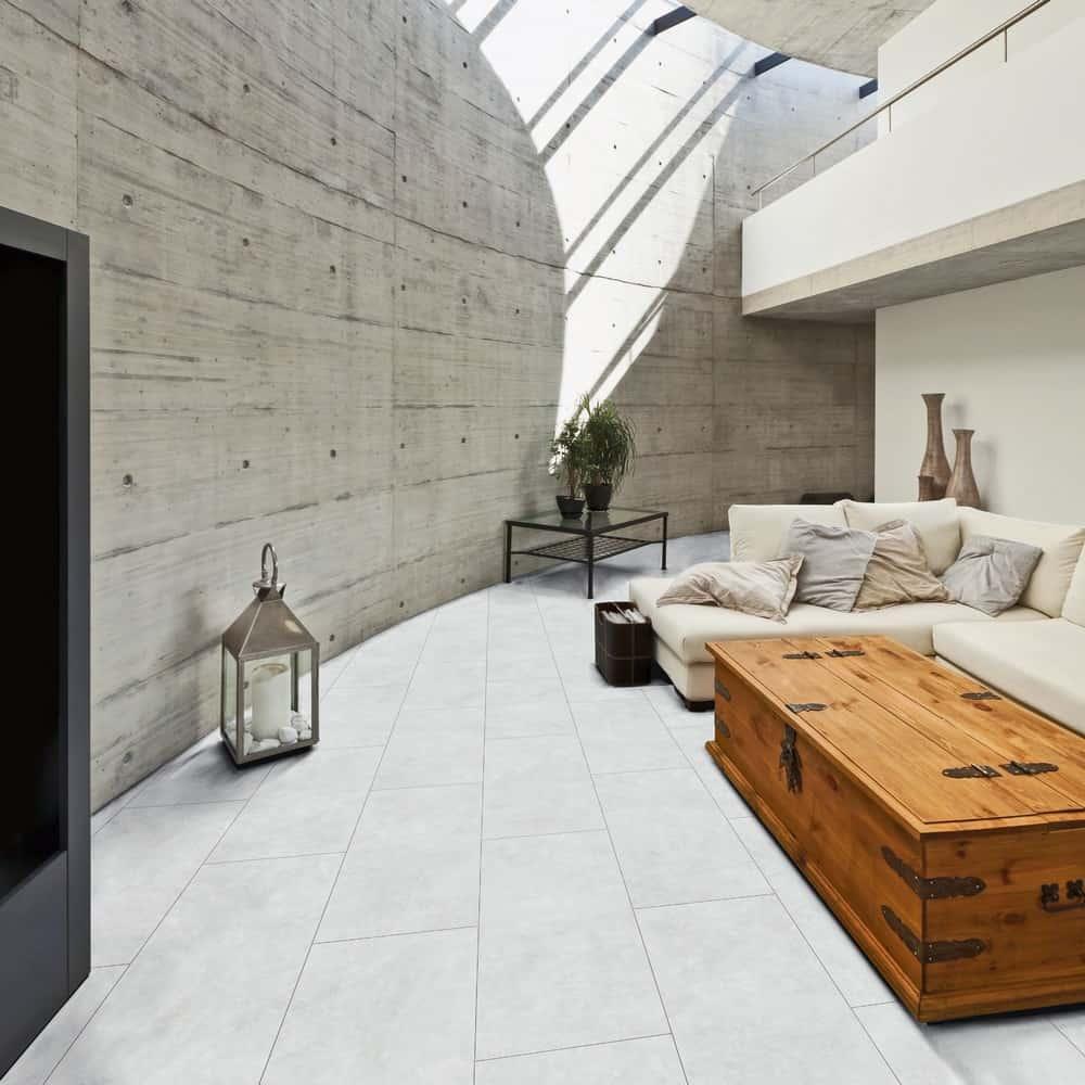 Fußböden in eleganter Holz- oder Steinoptik