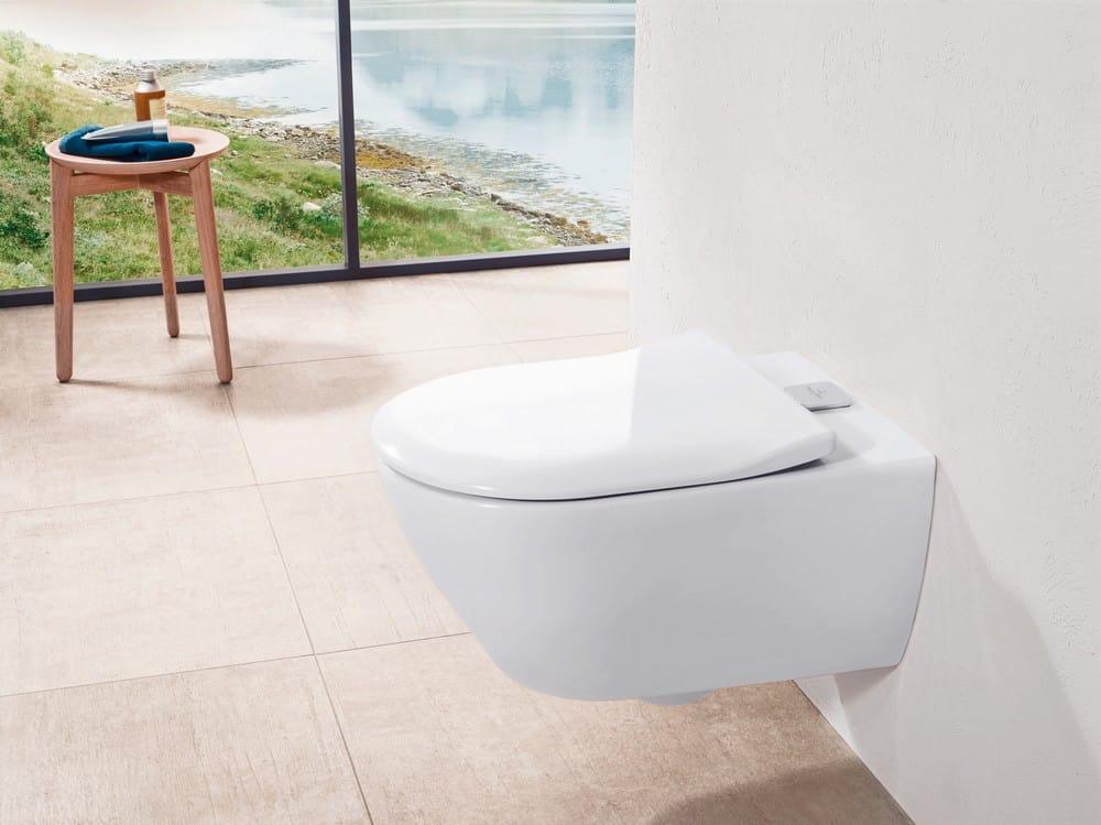 So schön kann Abspülen sein: Innovativen WCs sorgen für Hygiene und Frische. (Foto: HLC/Villeroy & Boch)