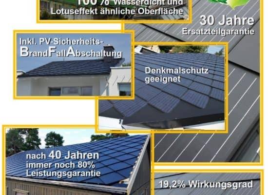 Solardach Energiedach