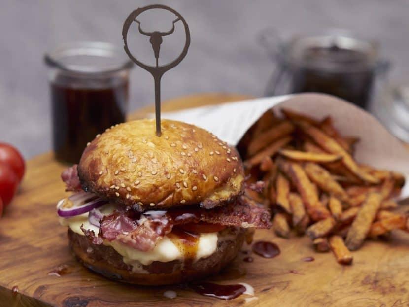 perfekter Burger