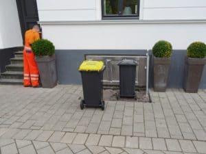 Tiefgarage für den Müll