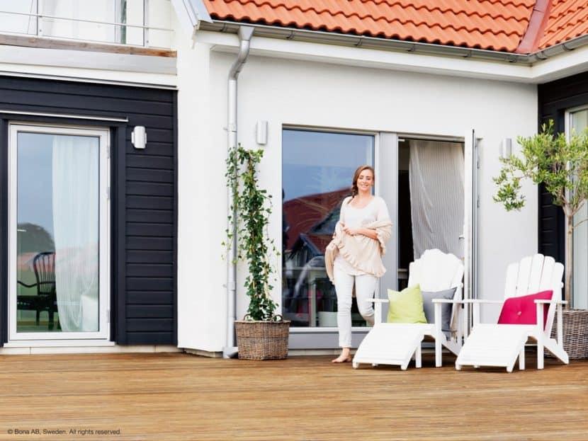 Holzpflege Terrasse