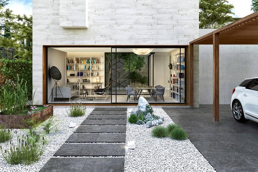 Terrassen Und Wege Mit Fliesen Und Platten Neu Gestalten Baufux