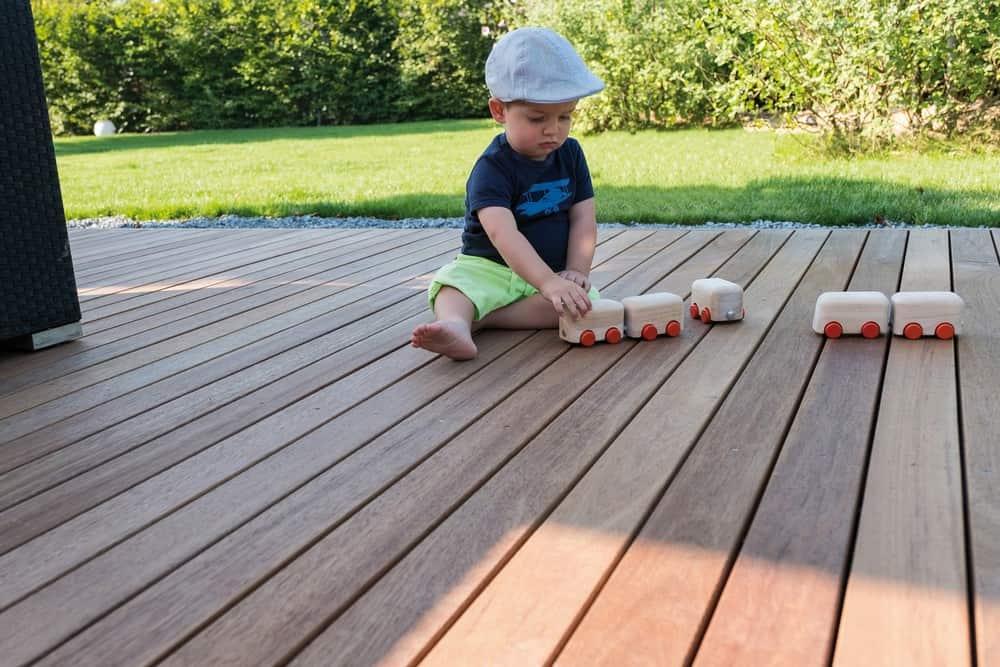 Terrassendielen Tropenholz