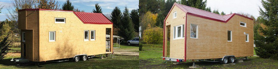 Mobiles Minihaus – Rolling Tiny House
