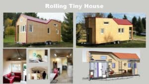 Mobiles Minihaus - Rolling Tiny House