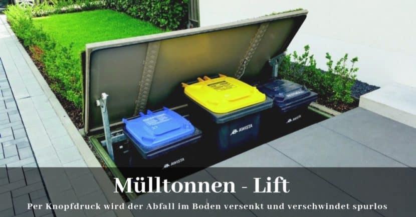 Muelltonnen Lift