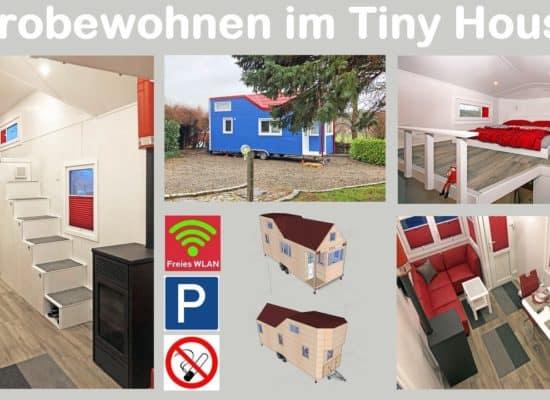 Tiny House Minihaus Probewohnen