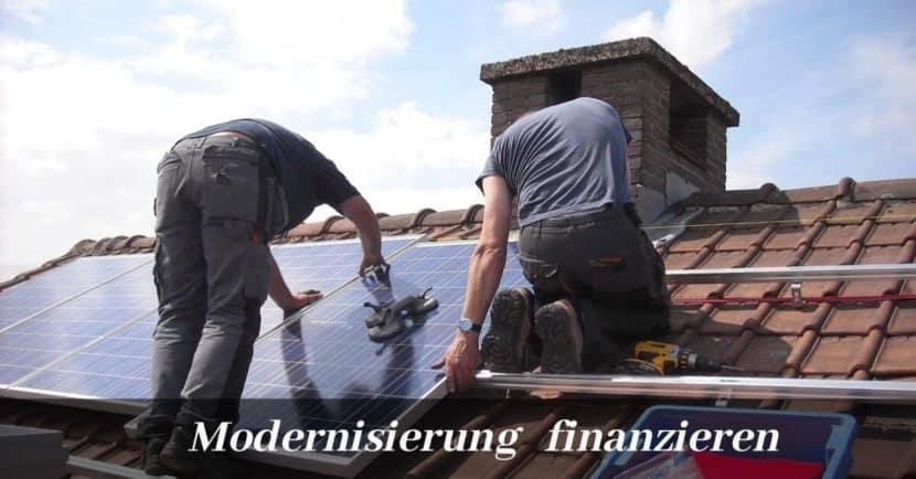Modernisierung finanzieren
