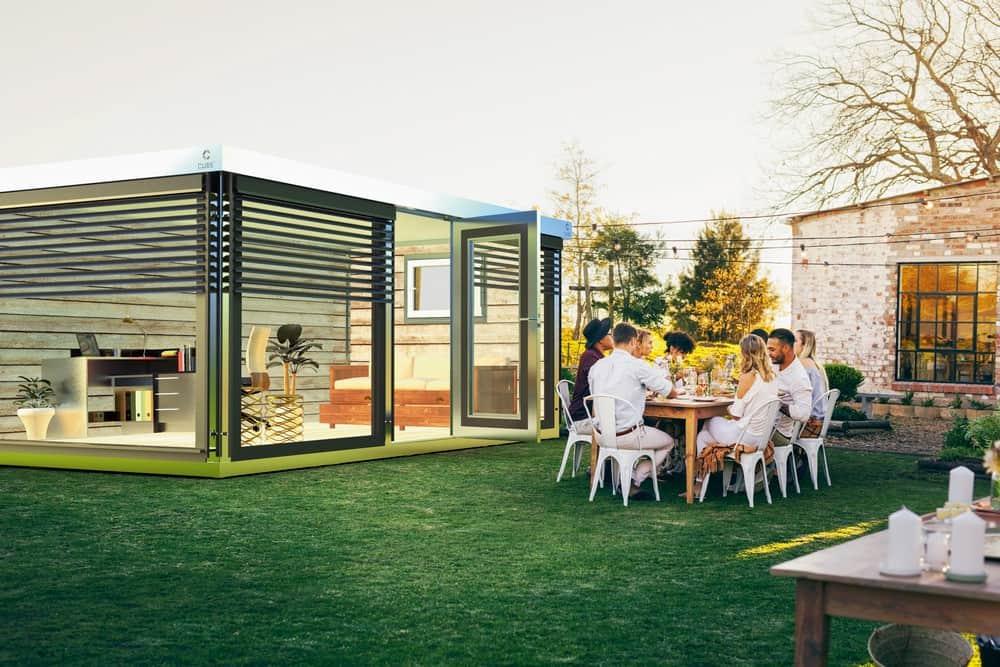 Modulhaus Garten